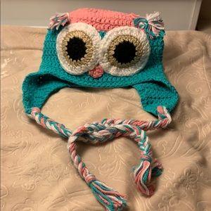 Other - Handmade Owl Winter Cap - Child